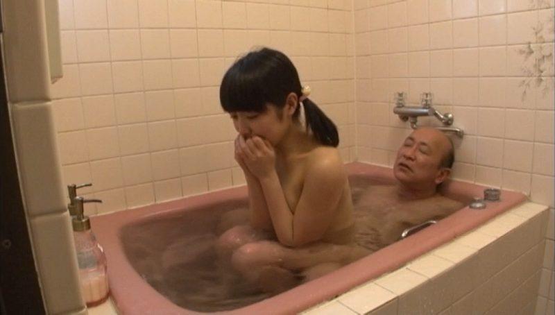 お風呂でセックスする有本紗世
